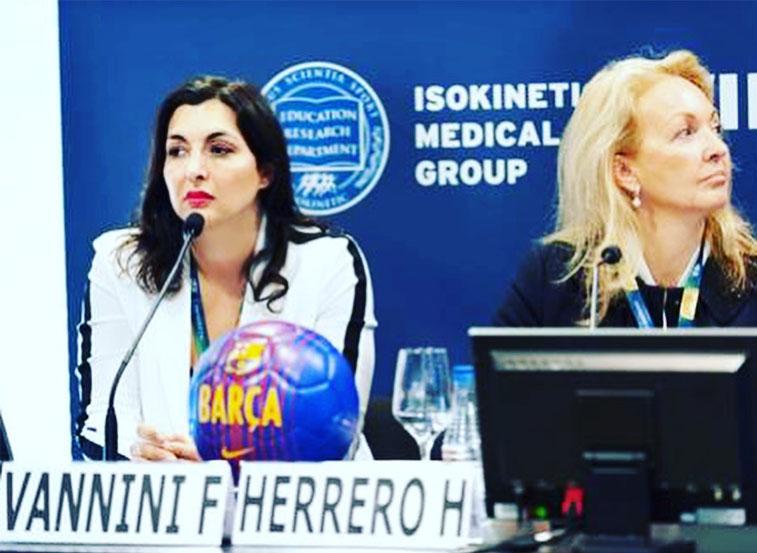 Francesca Vannini Isokinetic - Sempreinpiedi